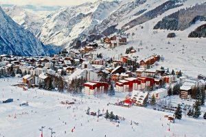 ski dorp frankrijk